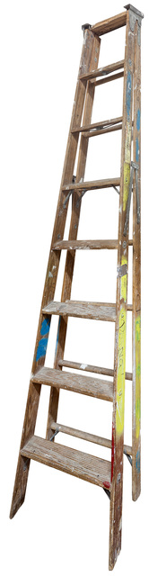 Jennifer Williams, 'Large Folding Ladder: Wooden with Paint', 2014, Robert Mann Gallery