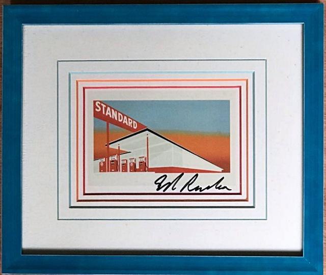 Ed Ruscha, 'Standard Station', ca. 1986, Alpha 137 Gallery