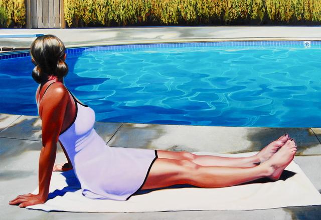 , 'Lisa Waiting,' 2015, Sue Greenwood Fine Art