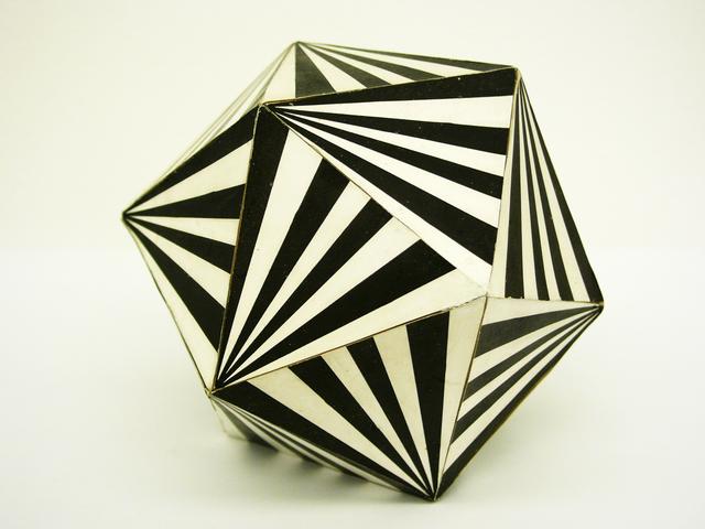 , 'Icosahedron,' 1972, acb