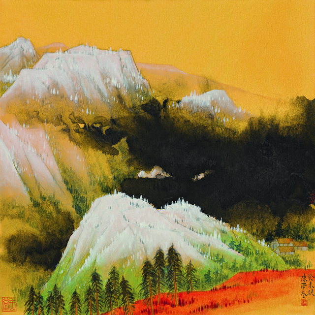 , '雪峰云涌,' 2003, YuShan Tang Gallery