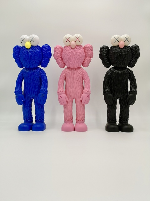 KAWS, 'KAWS, BFF (SET OF 3) OPEN EDITION', 2017, Plus