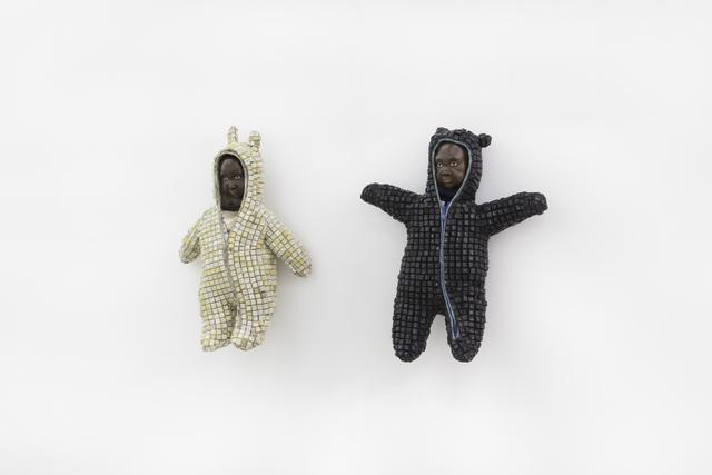 Maurice Mbikayi, 'Enfant I & II', 2019, Gallery MOMO