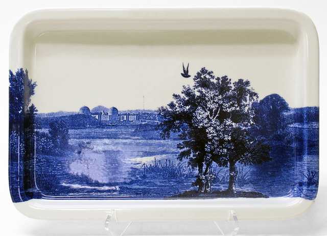 , 'Scott's Cumbrian Blue(s), American Scenery, Hudson River, Indian Point No. 2A,' , Ferrin Contemporary