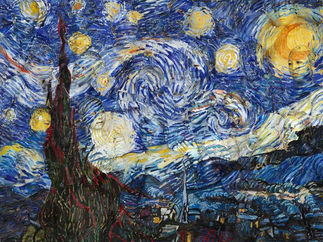, 'Starry Night,' 2015, Galería RGR