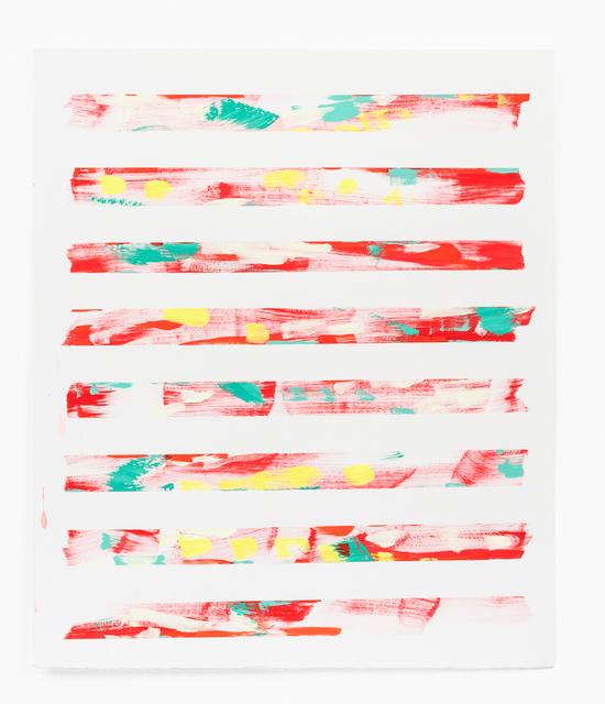 Andrea Joki, 'eight strips', 2018, The Bonfoey Gallery