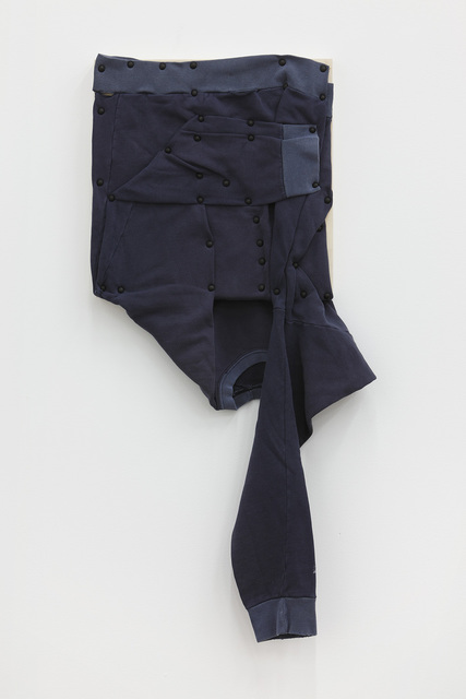 , 'his personal effects (long sleeve, blue),' 2012, Bortolami