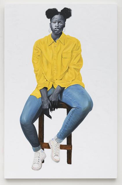 , 'Portrait in Yellow,' 2019, Roberts Projects