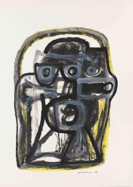 "Alexander Pankin, '""Thinking""', 1990, Krokin Gallery"
