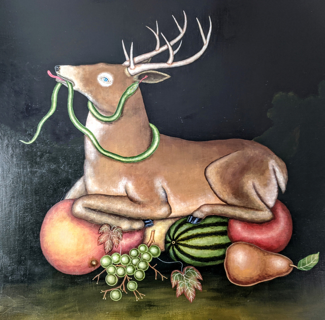 Fred Stonehouse, 'Harvest', 2020, Painting, Acrylic on wood panel, Koplin Del Rio