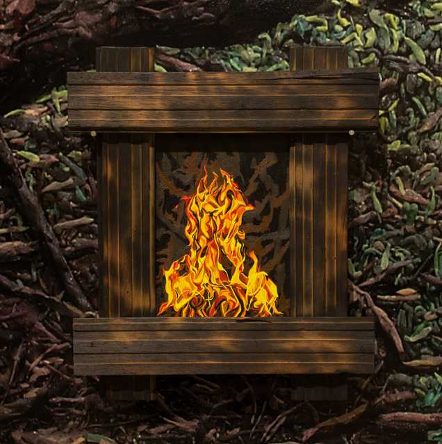 , 'Fire Series, No. 1,' 2018, Track 16 Gallery
