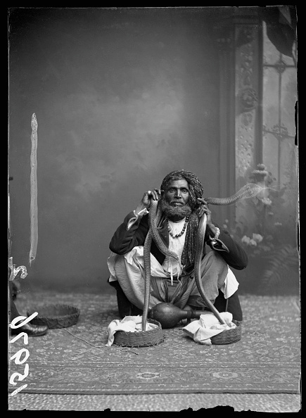 , 'Indian Snake Charmer,' 1885, Getty Images Gallery