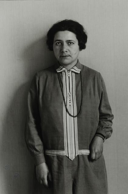 August Sander, 'Politician [Rosi Wolfstein-Frölich], 1929', Galerie Julian Sander