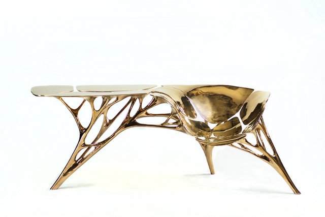 , 'Lotus Table with Seat,' 2016, Gallery ALL