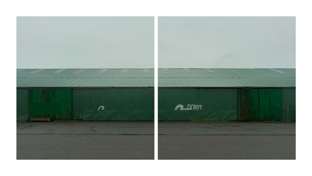 , 'Green Barn,' 2018, Hans Alf Gallery