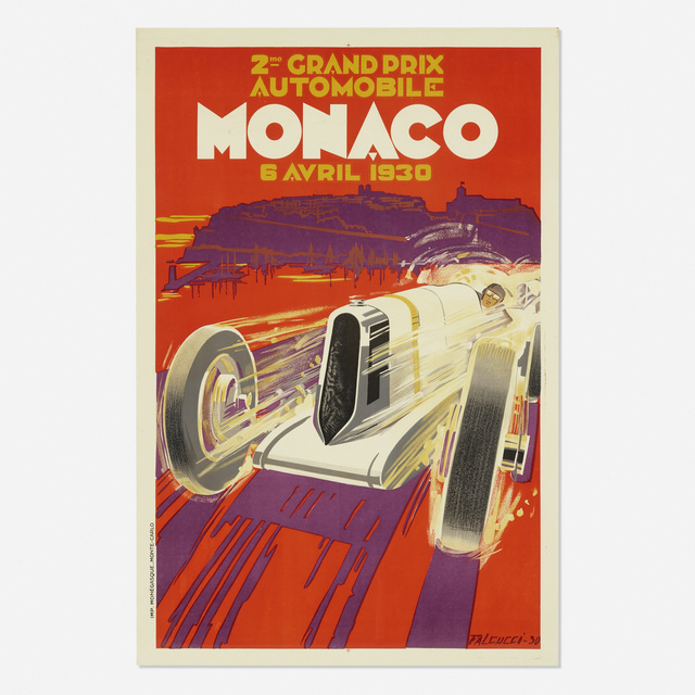 Robert Falcucci, 'Monaco Grand Prix', 1930, Wright