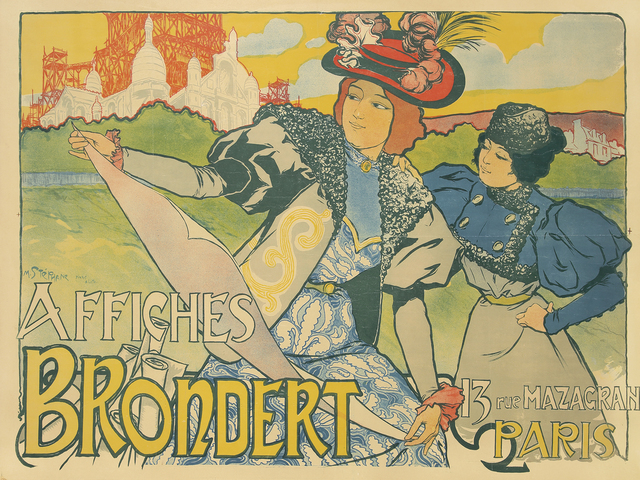 , 'Affiches Brondert,' 1898, Rennert's Gallery