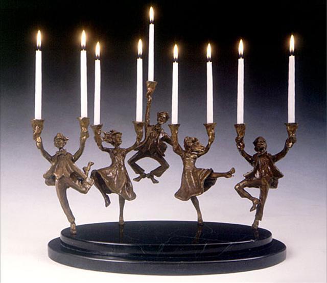 Zachary Oxman, 'Festival of Lights Men and Women', Zenith Gallery
