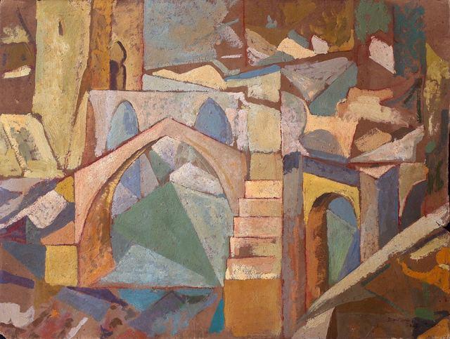 Diego Rivera, 'Puente de Toledo', 1913, Mirat