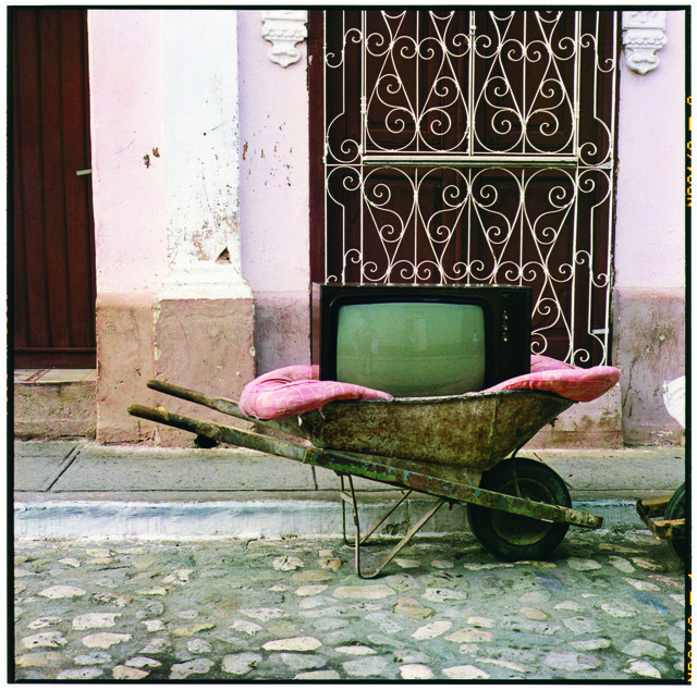 , ' TV Wheelbarrow,' 2001, Whitney Museum of American Art