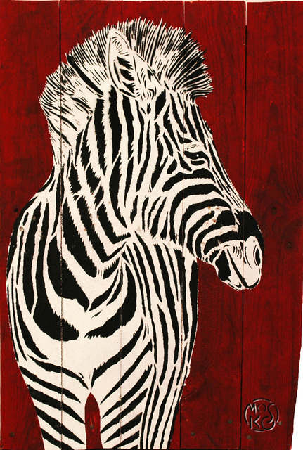 , 'Zebre,' 2016, Galerie Art Jingle