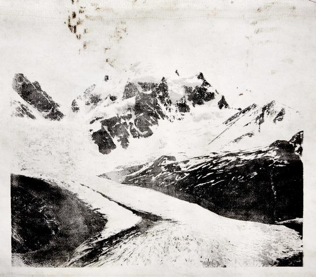 , 'Roseg Glacier,' 2020, Bildhalle