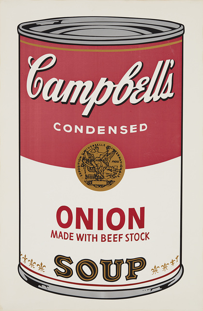Andy Warhol, 'Onion, from Campbell's Soup I', 1968, Phillips