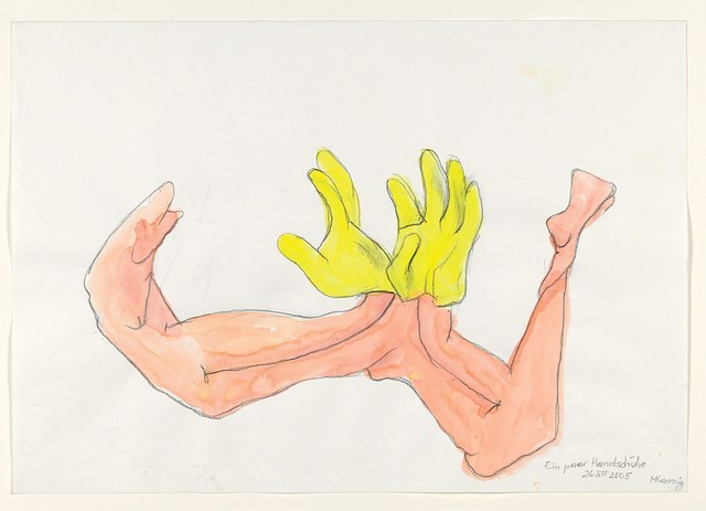 ", '""A Pair of Gloves"" for Parkett 85,' 2006/2009, Parkett"