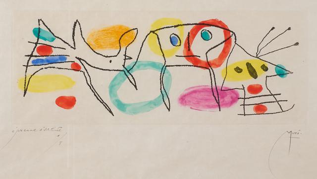 Joan Miró, 'La Magie Quotidienne', 1959, Rago/Wright