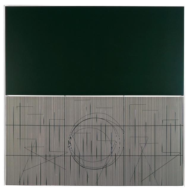 , 'Escritura oliva,' 2001, Mark Hachem Gallery