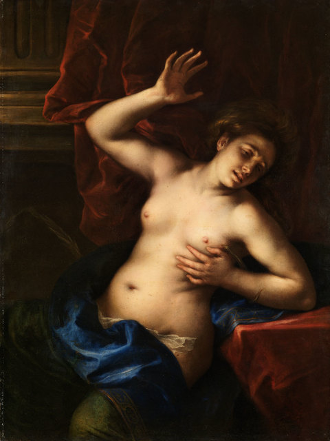 , 'Death of Cleopatra ,' 1645-1650, American Federation of Arts