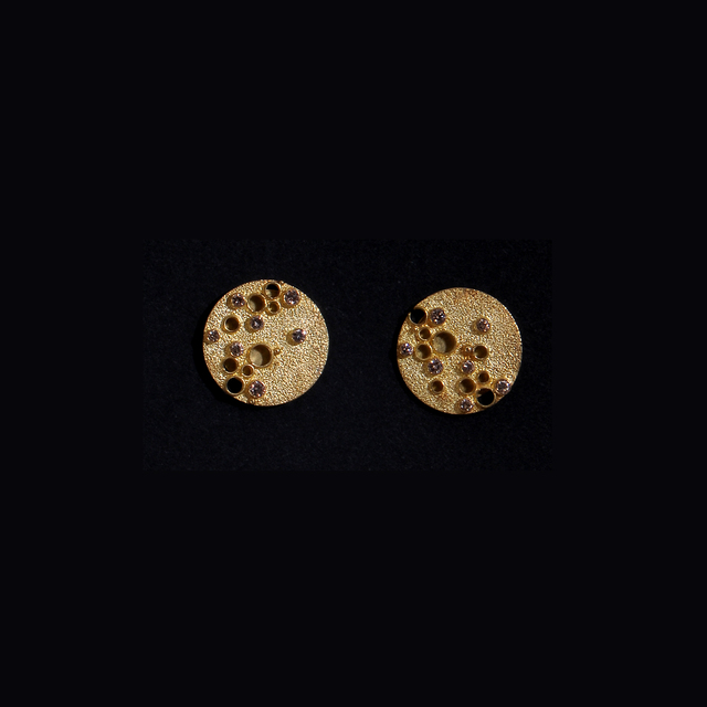 , 'Earrings #1055,' ca. 2000, Mobilia Gallery