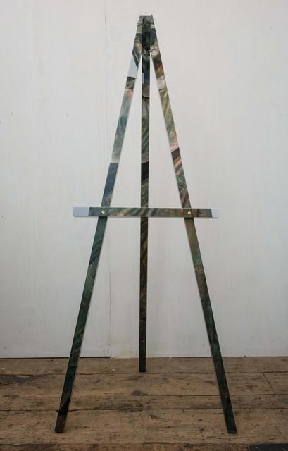 , 'Easel (Damnatio Memoriae),' 2017, LatchKey Gallery