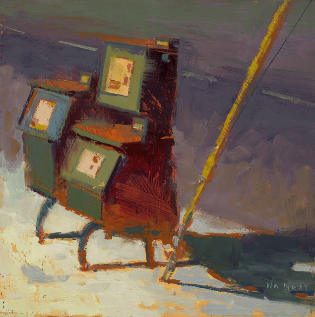 , 'Newsbox,' 2012, Sue Greenwood Fine Art