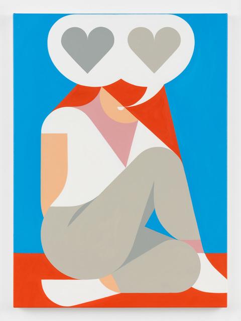 , 'Talking Love, but Grey,' , Rachel Uffner Gallery