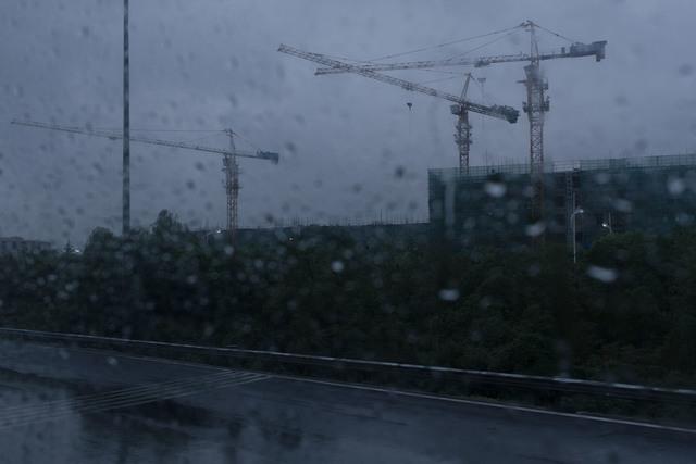 , 'Look Homeward, Angel - Buildings that are rushing in the rain ,' 2018, Powen Gallery