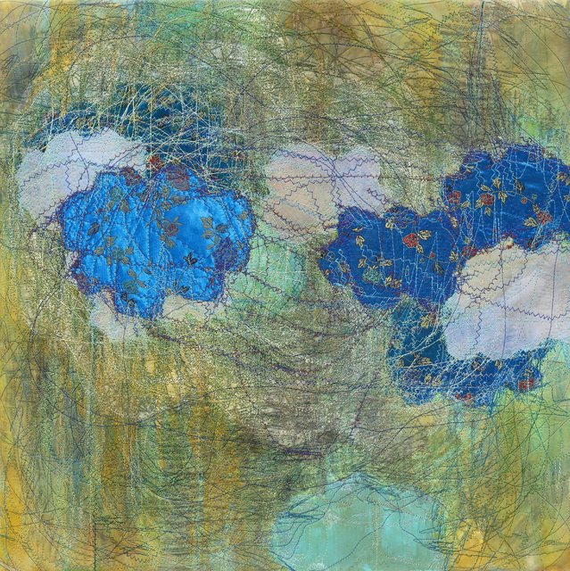 Shin Kyoung Ro, 'Inbetween 0513', 2018, Painting, Sewing on paper, Artflow