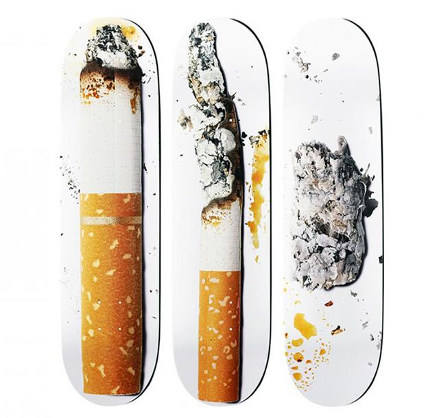 Urs Fischer, 'Urs Fischer Supreme Skateboard Decks (complete set of 3) ', 2016 , Lot 180