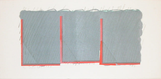 , 'Horizon II (grey and orange) ,' 1970, Bernard Jacobson Gallery