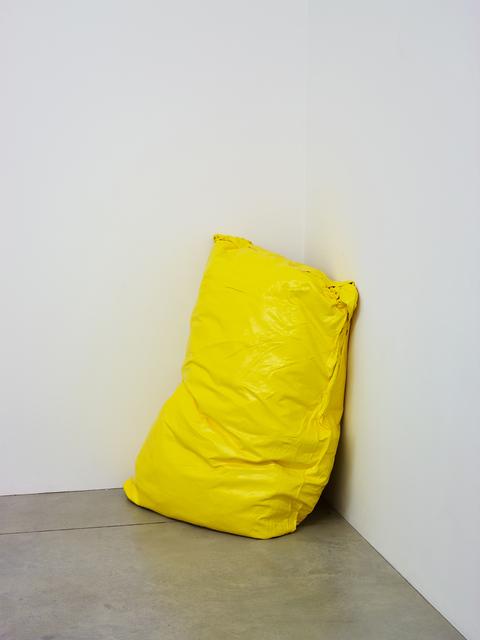 , 'Lazy Painting (Permanent Yellow light),' 2018, Taubert Contemporary