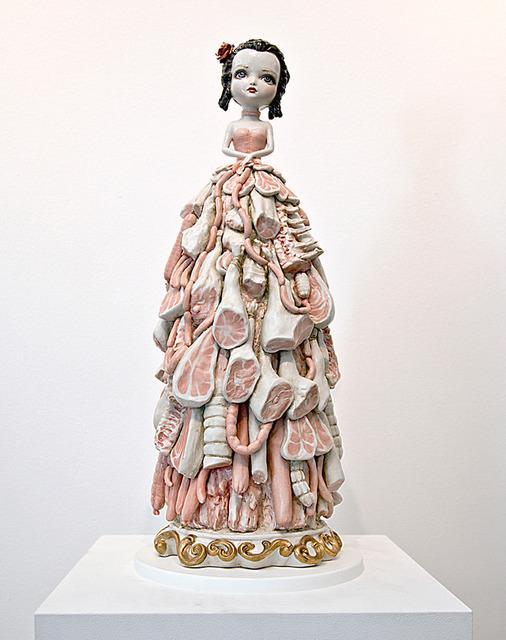 , 'Meat Dress,' 2012, Kohn Gallery