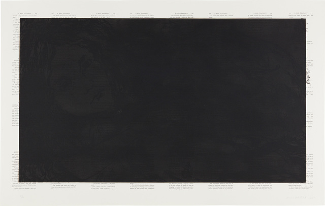Tim Rollins, 'Black Alice; and White Alice', 1989, Phillips