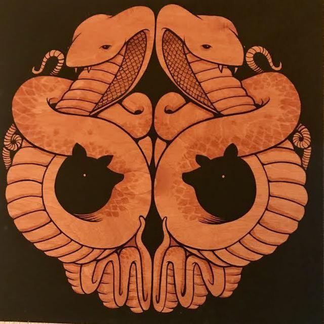 Jeremy Fish, 'Cobras Skull', 2010, Jonathan LeVine Projects