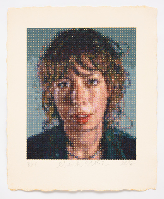 Chuck Close, 'Cecily/ Felt Hand Stamp', 2012, Pace Prints