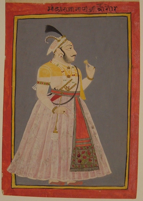 , 'Portrait of Maharaja Nathji ,' 1874, Newark Museum