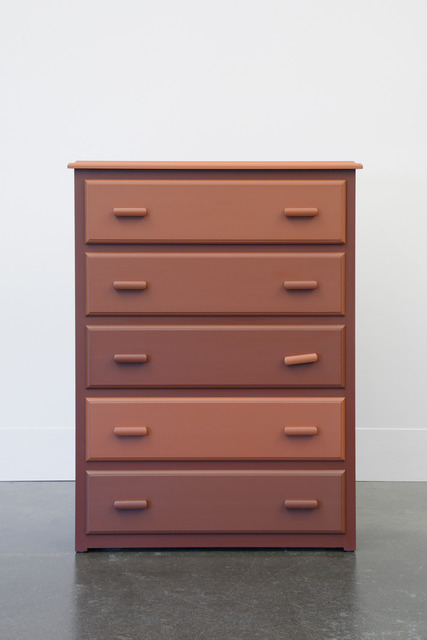 , 'The Chest of Drawers behind James Jamesson and Jimmy Fanz in Raging Stallion Studios' Timberwolves,' 2014, Domestic Furniture
