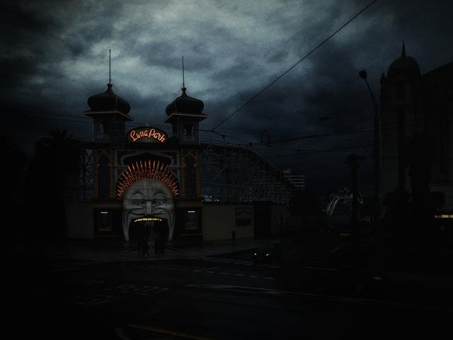Christopher Rimmer, 'Luna Park 3', 2015, Photography, Pigment print on paper, Angela Tandori Fine Art