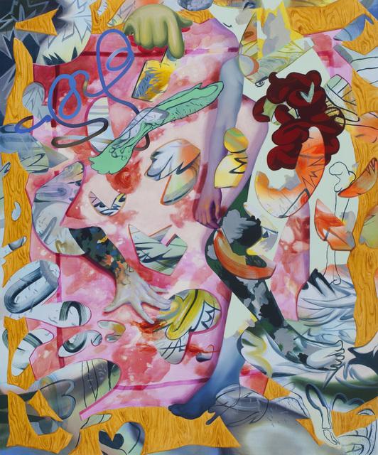 , 'Pink Rug,' 2016, Roman Fine Art