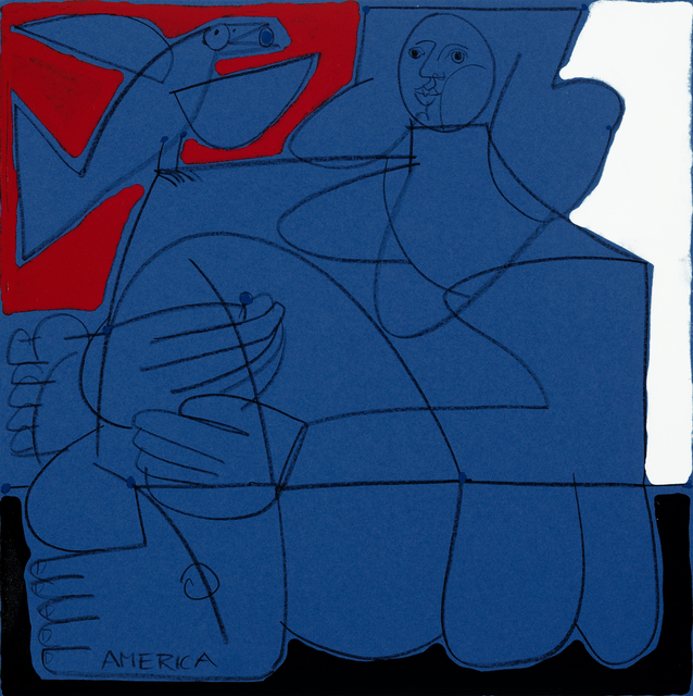 , 'Woman & Blue Bird II,' , Joanne Artman Gallery