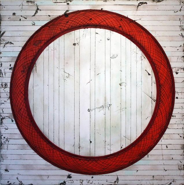 , 'Red Torus,' 2016, J GO Gallery